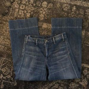 Citizens of Humanity wide leg jeans Size 26